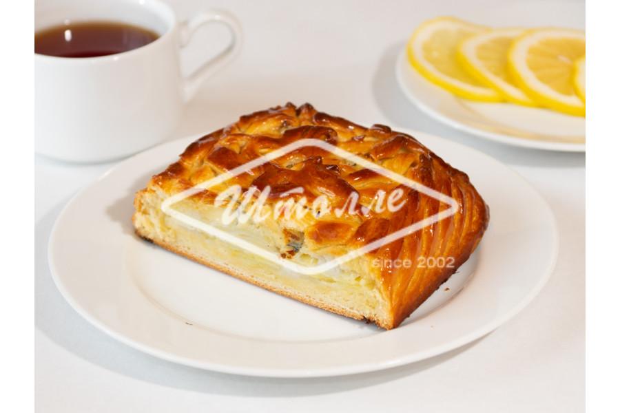 Пирог с картофелем и сыром дор-блю