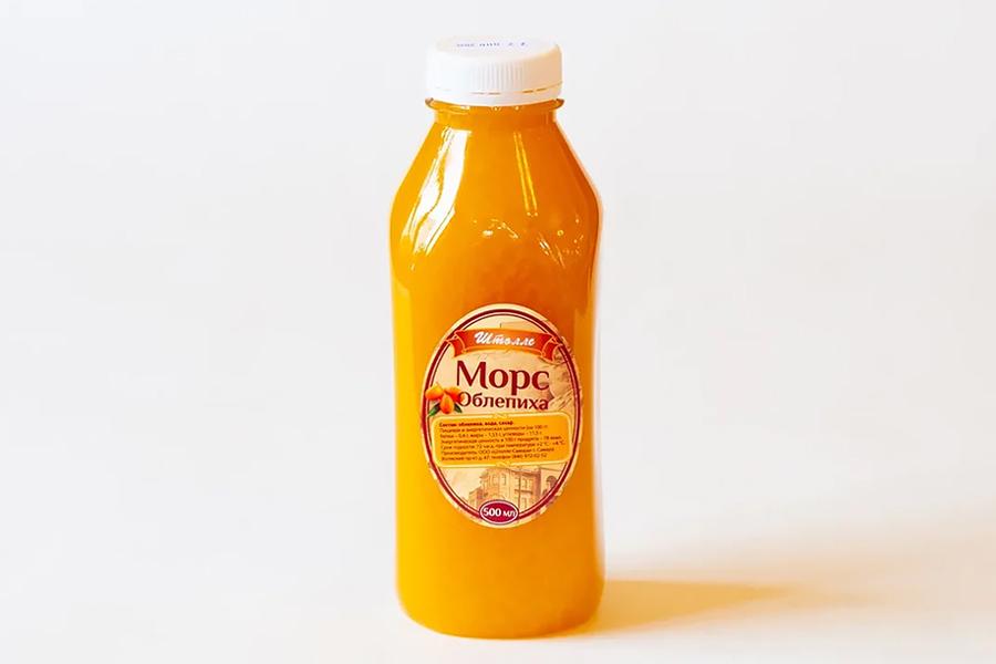 Морс облепиховый 0,5 л